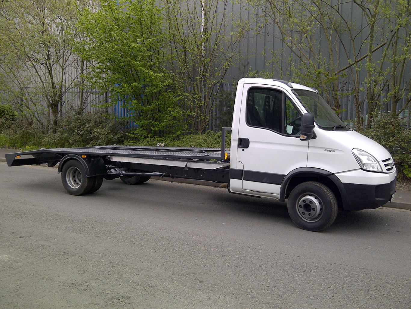 Iveco Car Transporter Conversion Sandbach Cheshire Truck